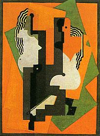 <em>Composition aux deux figures</em>, 1920<br /> Huile sur toile<br /> 120 x 94 cm<br /> Acquis en 1976 (inv. 0-731)