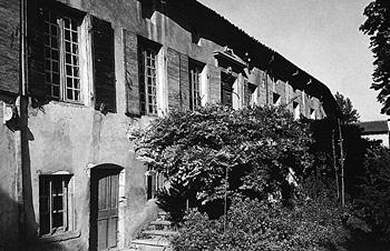 La maison de Moly-Sabata, Sablons, vers 1945