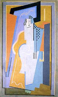 <em>Sans titre</em>, 1924<br /> Huile sur toile<br /> 203 x 122 cm<br /> Acquis vers 1960 (inv. ADK 12397)