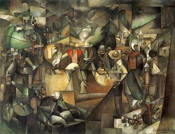 <em>Le Dépiquage des moissons</em>, 1912<br /> Huile sur toile<br /> 269 x 353 cm<br /> Acquis en 2005