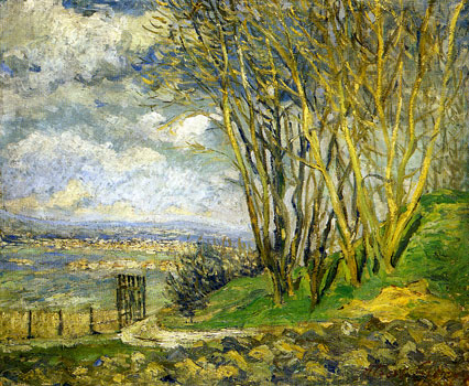 <em>Paysage, 1902</em><br /> Huile sur toile <br /> 53 x 64 cm<br /> Paris, Fondation Albert Gleizes<br /> Photo Alain Basset
