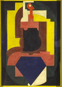 <em>Composition</em>, 1921<br /> Huile sur bois<br /> 92 x 65 cm<br /> Acquis en 1969 (inv. 69.27.1)