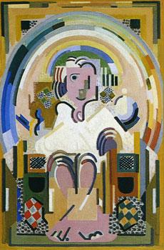 <em>Le Législateur</em>, 1937<br /> Huile sur toile<br /> 142 x 96 cm<br /> Acquis en 1962 (inv. MG 3209)