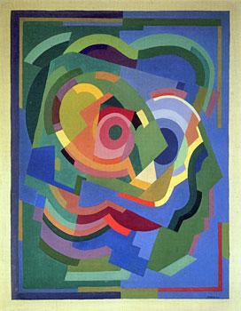 <em>Panneau décoratif pour la chambre de Jacqueline Rosenberg</em>, 1930-1931<br /> Huile sur toile<br /> 115 x 90 cm<br /> Legs Lucienne Rosenberg, 1995 (inv. AM 2000-19)