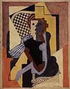 <em>Figure</em>, 1920<br /> Gouache sur toile<br /> 91,4 x 76,2 cm<br /> The Mr. and Mrs William Preston Harrison, 1926 (inv. 26.7.6)