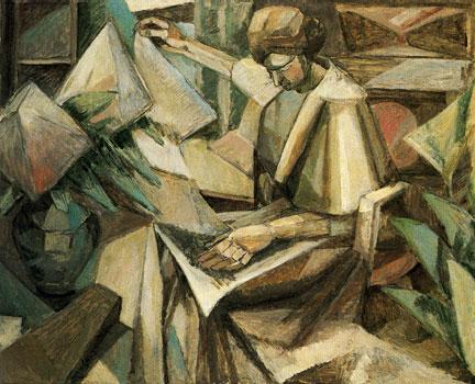 <em> Femme aux phlox</em>, 1910<br /> Huile sur toile<br /> 81 x 100 cm<br /> Don Esther Florence Whinery Foundation (inv. 65.39)