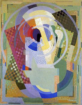 <em>Support de contemplation, Les Jaunes, soleil</em>, 1932-1934<br /> Huile sur toile<br /> 141 x 111 cm<br /> Acquis en 1951 (inv. 512)