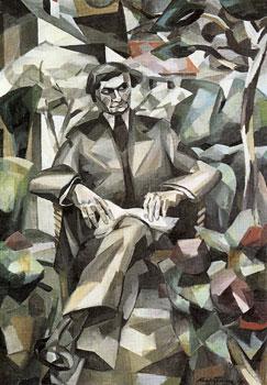<em>Portrait de Jacques Nayral</em>, 1911<br /> Huile sur toile<br /> 180 x 130 cm<br /> Acquis en 1979 (inv. T. 2410)