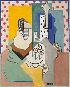 <em>Peinture familière</em>, 1923<br /> Huile sur toile<br /> 81 x 65 cm<br /> Acquis en 1926 (inv. A-463)