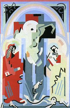 <em>Crucifixion</em>, 1935 <br /> Huile sur toile<br /> 137 x 92 cm<br /> Acquis en 1962 (inv. 4556)