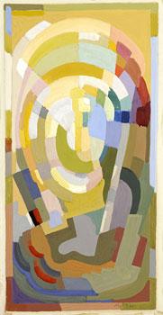 <em>Lumière</em>, 1932<br /> Gouache sur papier<br /> 32 x 26 cm<br /> Legs André Dubois, 2004 (inv. 2005-17)