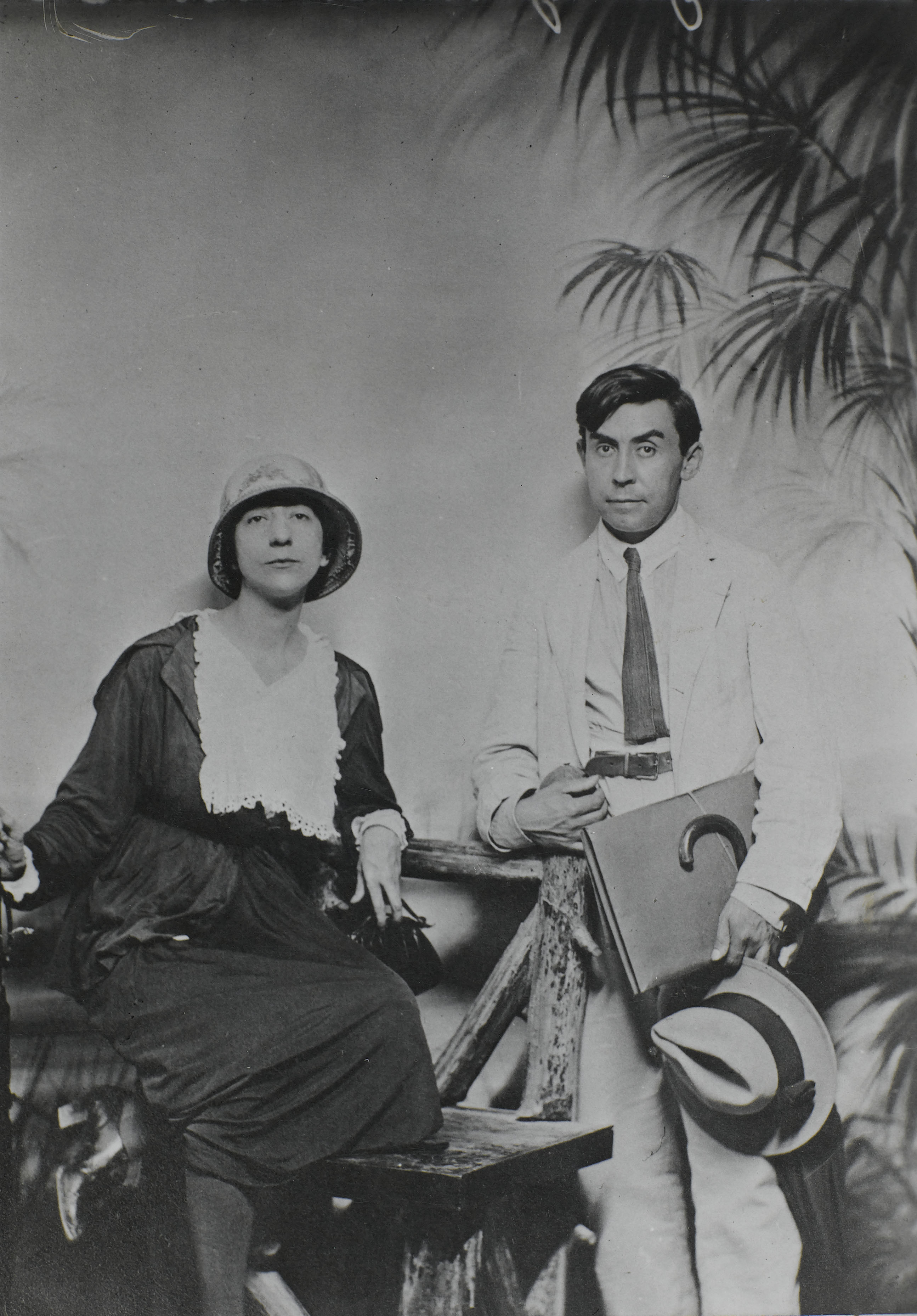 <em>Albert Gleizes et Juliette Roche</em>, New York, 1915<br /> Paris, Centre Pompidou, musée national d'art moderne/cci, bibliothèque Kandinsky (fonds Gleizes)