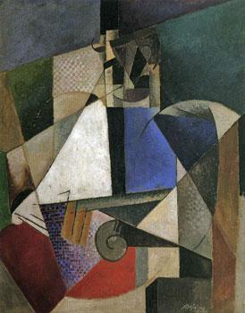 <em>Portrait d'un médecin militaire</em>, 1914<br /> Huile sur toile<br /> 120 x 95 cm<br /> New York, Solomon R. Guggenheim Museum<br /> Don Solomon R. Guggenheim, 1937