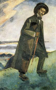 <em>René Arcos</em>, 1910<br /> Huile sur toile<br /> 60,3 x 38,3 cm<br /> Paris, Fondation Albert Gleizes