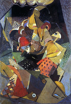 <em>Les Acrobates</em>, 1916<br /> Huile sur toile<br /> 112 x 82 cm<br /> Purchased through the NGV Foundation with the assistance of The Eugenie Crawford Bequest, Founder Benefactor, 2003 (inv. ?)