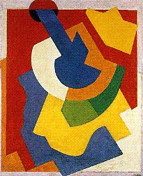 <em>Composition</em>, 1921<br /> Huile sur toile<br /> 64,5 x 53,5 cm<br /> Don Marguerite Arp-Hagenbach, 1968 (inv. G. 1968.66)