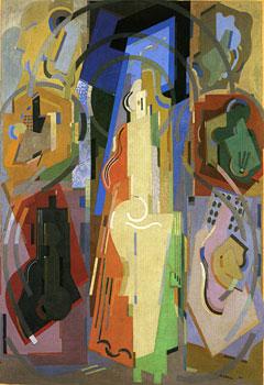<em>Peinture à sept éléments</em>, 1924-1934<br /> Huile sur toile<br /> 261 x 181 cm<br /> Paris, Centre Georges Pompidou / Musée national d'Art moderne