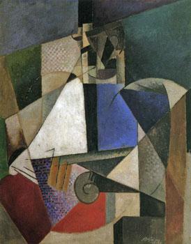 <em>Portrait d'un médecin militaire</em>, 1914<br /> Huile sur toile<br /> 120 x 95 cm<br /> Don Solomon R. Guggenheim, 1937 (inv. 37.473)