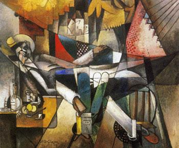 <em>Homme au hamac</em>, 1913<br /> Huile sur toile<br /> 130 x 155,5 cm<br /> Acquis en 1957 (inv. 1957:2)