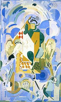 <em>Aladin</em>, 1939-1940<br /> Huile sur toile<br /> 310 x 188 cm<br /> Don Robert L.B. Tobin, 1973 (inv. 1973-17-2)