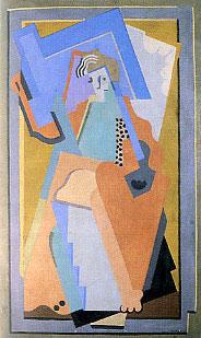 <em>Sans titre</em>, 1924<br /> Huile sur toile<br /> 203 x 122 cm<br /> Acquis vers 1960 (inv. ADK 12398)