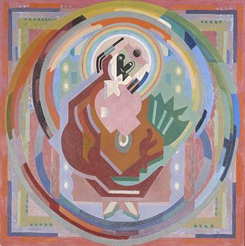 <em>Terre et Ciel</em>, vers 1935<br /> Huile sur toile<br /> 136 x 136 cm<br /> Lyon, musée des Beaux-Arts<br /> Photo Alain Basset