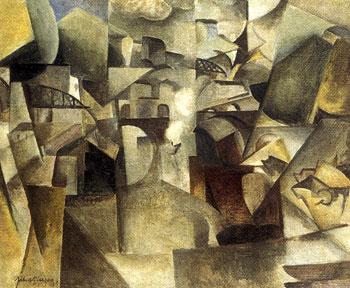 <em>Paysage de Passy</em>, 1912<br /> Huile sur toile<br /> 58 x 72,5 cm<br /> Acquis en 1962 (inv. 65/B)