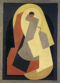 <em>Composition</em>, 1922<br /> Huile sur toile<br /> 81 x 59,5<br /> Acquis en 1981 (inv. 17147)