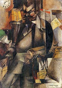 <em>L'Editeur Eugène Figuière</em>, 1913<br /> Huile sur toile<br /> 143,5 x 101,5 cm<br /> Acquis de l'artiste, 1948 (inv. 1948-19)