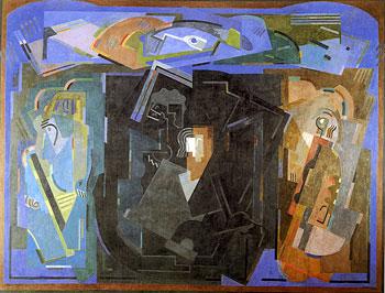 <em>Le Centre noir</em>, 1925<br /> Huile sur toile<br /> 268,5 x 354 cm<br /> Don de Juliette Roche-Gleizes, 1954 (inv. 1954-120)