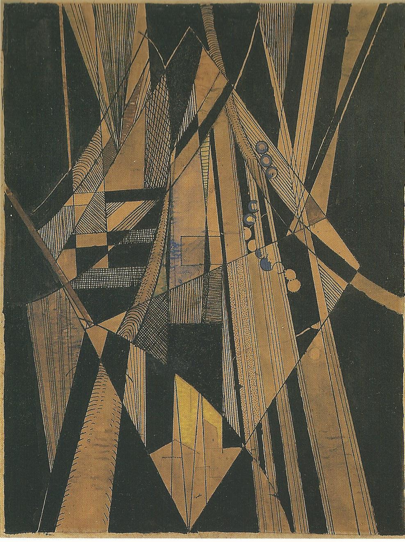 <em>Brooklyn bridge</em>, 1915<br /> Mine graphite, encre, lavis, aquarelle et gouache sur papier calque<br /> 25 x 19 cm<br /> Acquisition (inv. ?)