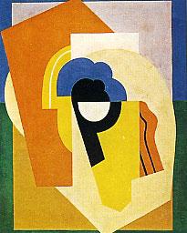 <em>Composition</em>, 1920<br /> Tempera sur bois<br /> 92 x 73 cm<br /> Acquis en 1962 (inv. T. 550)