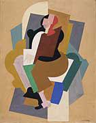 <em>Figure assise</em>, 1920<br /> Aquarelle sur papier<br /> 26,5 x 21 cm<br /> The Mr. and Mrs William Preston Harrison, 1931 (inv. 31.12.5)