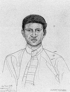 <em>Portrait d'Yvan Goll</em>, 1921<br /> Crayon sur papier<br /> 22,3 x 16,1 cm<br /> Acquis en 1973 (inv. B 73.236)