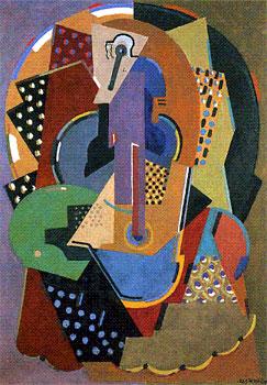 <em>Ecuyère</em>, 1920-1923<br /> Huile sur toile<br /> 130 x 93 cm<br /> Attribution du Fonds national d'Art contemporain, 1951 (inv. AM 3075 P)<br /> <br /> En dépôt au musée des Beaux-Arts de Rouen depuis 1998