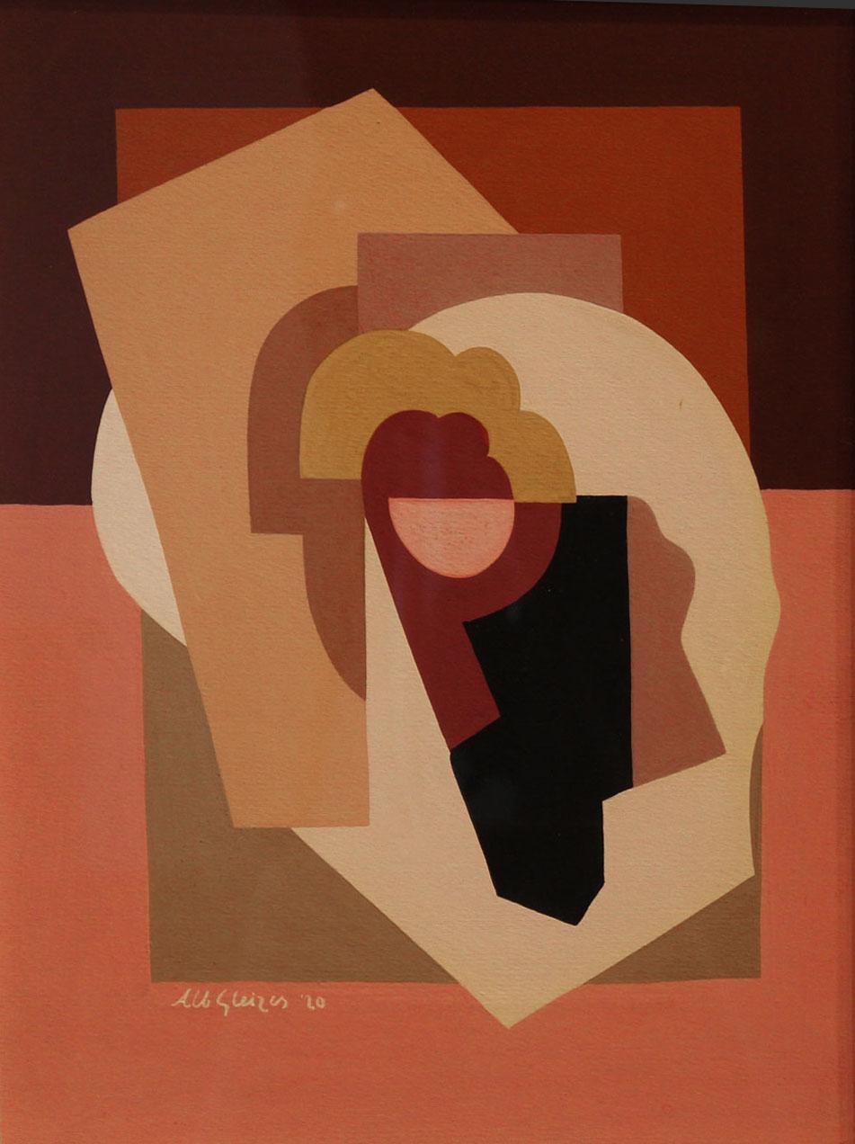 <em>Composition</em>, 1920<br /> Gouache sur papier<br /> 40 x 30 cm<br /> Acquis en 1986 (inv. D 1986.1)