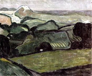 <em>Paysage des Pyrénées</em>, 1908<br> Huile sur toile<br> 54 x 64,8 cm<br> Don Juliette Roche-Gleizes, 1963 (inv. 63.1667)